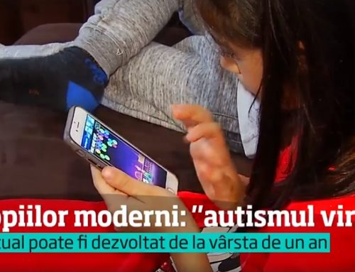 Video. Antena 1 – Pay attention how long you keep your children in front of smart TVs or phones! Virtual Autism is a new disorder that affects young people